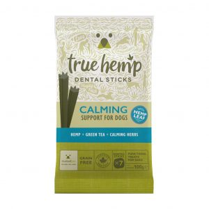 True hemp hondensticks kalmerend