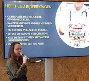 presentatie huishoudbeurs CBD