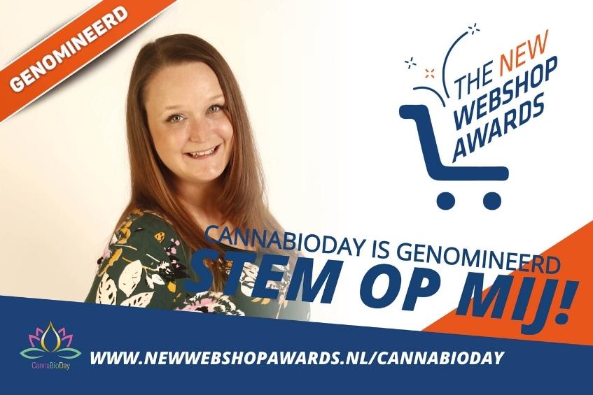 CannaBioDay maakt kans op de New Webshop Awards.