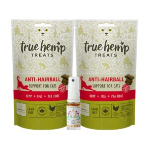 anti-haarbal kattenbox CannaBioDay